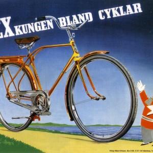 Rex Bicycle (The King of bicycles) – Retro Nostalgia Postcards