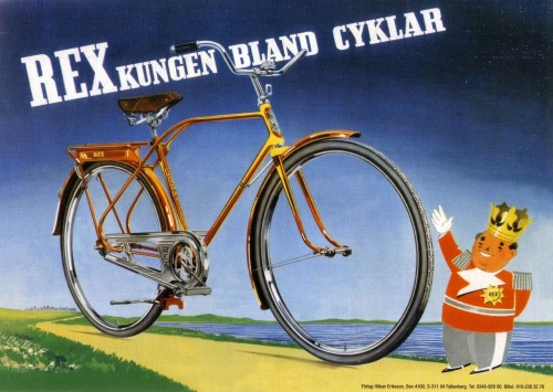 Rex Bicycle (The King of bicycles) – Retro Nostalgia Postcards