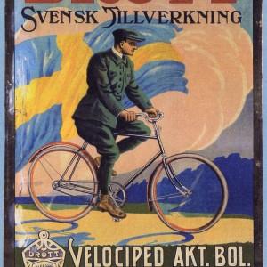 Drott Bicycle – Retro Nostalgia Postcard