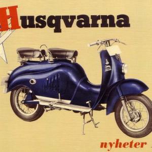 Husqvarna Moped 1955 – Retro Nostalgia Postcard