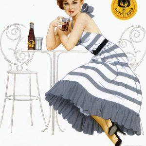 Kitty Kola – Retro Nostalgia Poster