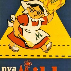 Milda – Retro Nostalgia Postcard
