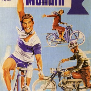 Monark Bicycle 1956 – Retro Nostalgia Postcard