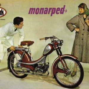 Monark Monarped – Retro Nostalgia Postcards