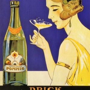 Drick Pommis – Retro Nostalgia Postcard