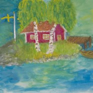 'A DREAM OF SWEDEN' AN OHSOSWEDISH CARD