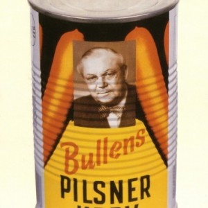 Bullens pilsnerkorv – Nostalgia Poster