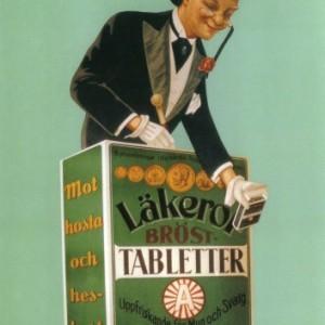 Läkerol pastilles – Nostalgia Poster