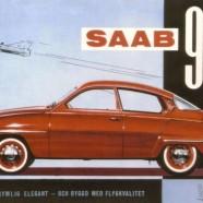 SAAB 96 – Nostalgia Poster