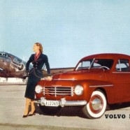Volvo PV444 – Nostalgia Poster