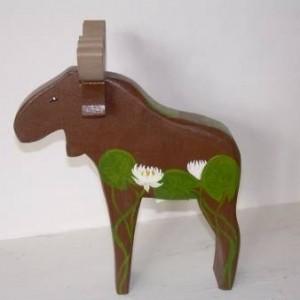 """""""Per-Anders"""" Wooden Moose"""