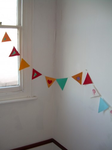 """Göteborg Sea Breeze"" – Textile Bunting"