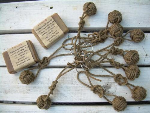 """""""Bohuslän"""" – Rope Knot Keyring"""