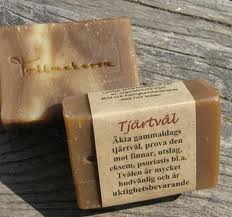 Tjärtvål  – Swedish Wood Tar Soap