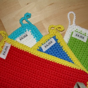 """Kajsa"" – Crochet Kettle Holder"