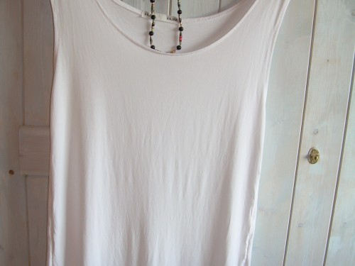 """Kajsa"" – White Loosefit Top"