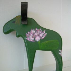 """Alma"" – Wooden Moose"