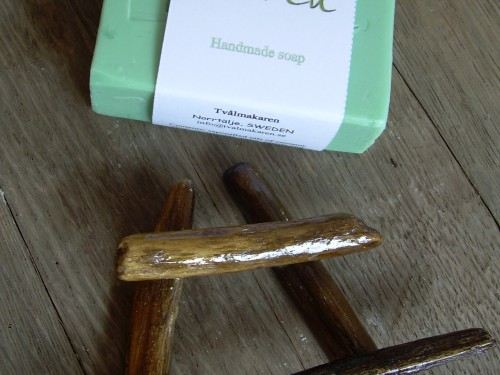 """´Björk"" Swedish Birch Soap & Drift Wood Soap Dish – Gift set"