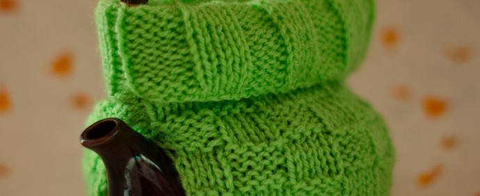 Tea Cosy Apple Green Ana von R