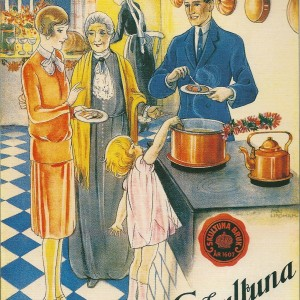 Skultuna Copper Pans – Swedish Nostalgia Postcards