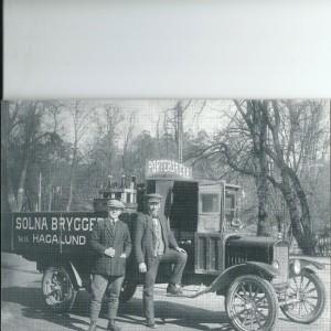 Solna Brewery Truck – Swedish Nostalgia Postcard