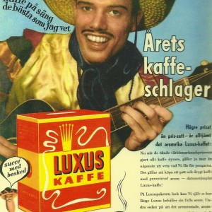 Luxus Kaffe – Swedish Nostalgia Postcard
