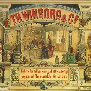 TH. WINBORG & Co – Swedish Nostalgia Postcard