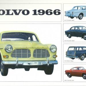 Volvo 1966: Amazon/ Station Wagon/The Touring Coupe – Swedish Nostalgia Poster