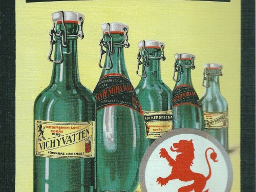 Lejonets Fizzy Drinks- Swedish Nostalgia Postcards