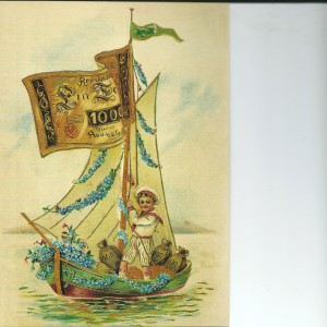 Little Sailor – Swedish Nostalgia Postcard