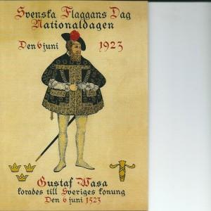 Swedish National Day & King Gustaf Wasa 1523 – Swedish Nostalgia Postcard