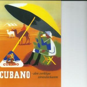 Cubano Fruitdrink – Swedish Nostalgia Postcard