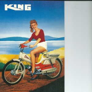 King Moped – Swedish Nostalgia Postcard
