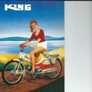 King Moped – Swedish Nostalgia Postcard