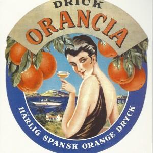Orangia – Swedish Nostalgia Poster