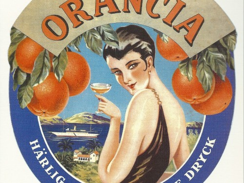 Orangia &#8211; Swedish Nostalgia Poster