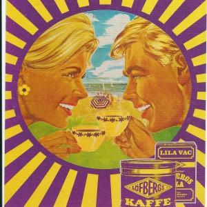 Löfbergs Lila Kaffe – Swedish Nostalgia Postcard