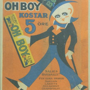 Oh Boy – Swedish Nostalgia Postcard