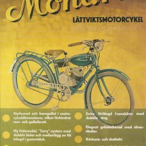 Monark Light MC – Swedish Nostalgia Poster