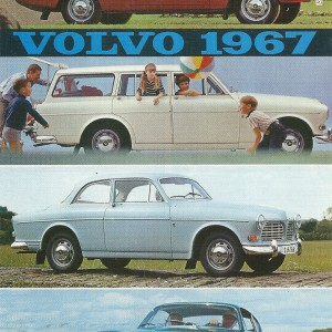 Vintage Volvo 1967 for one and for all – Swedish Nostalgia Postcards