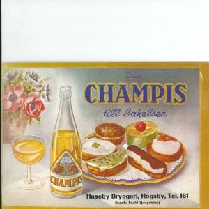 Champis – Swedish Nostalgia Poster
