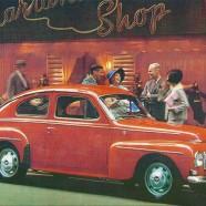 Volvo PV F 1964/65 – Swedish Nostalgia Poster