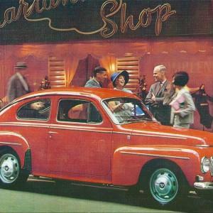 Volvo PV F 1964/65 – Swedish Nostalgia Postcard