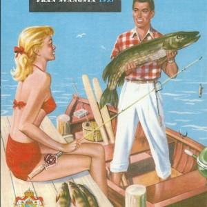 Spinning Reels: Napp & Nytt 1955 – Swedish Nostalgia Postcards
