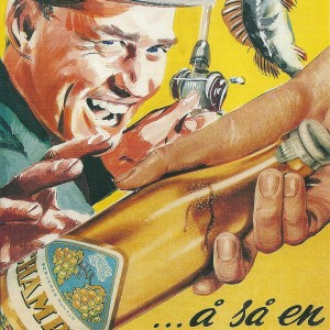 Champis & Fishing – Swedish Nostalgia Poster