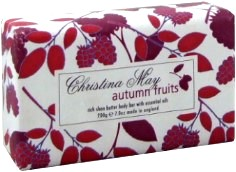 Autumn Fruits Bath Soap &#8211; Christina May Collection