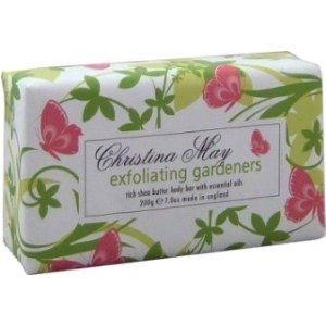 Exfoliating Gardener&#8217;s Soap/Pink Garpefruit  &#8211; Christina May Collection