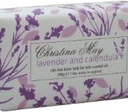 Lavender &#038; Calendula Triple-milled Soap &#8211; Christina May