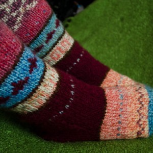 Warm wool Handknitted socks – size 41