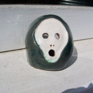 The Scream – Ceramic Tea Light Holder